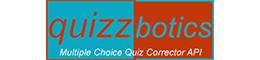 multiple choice quiz corrector api